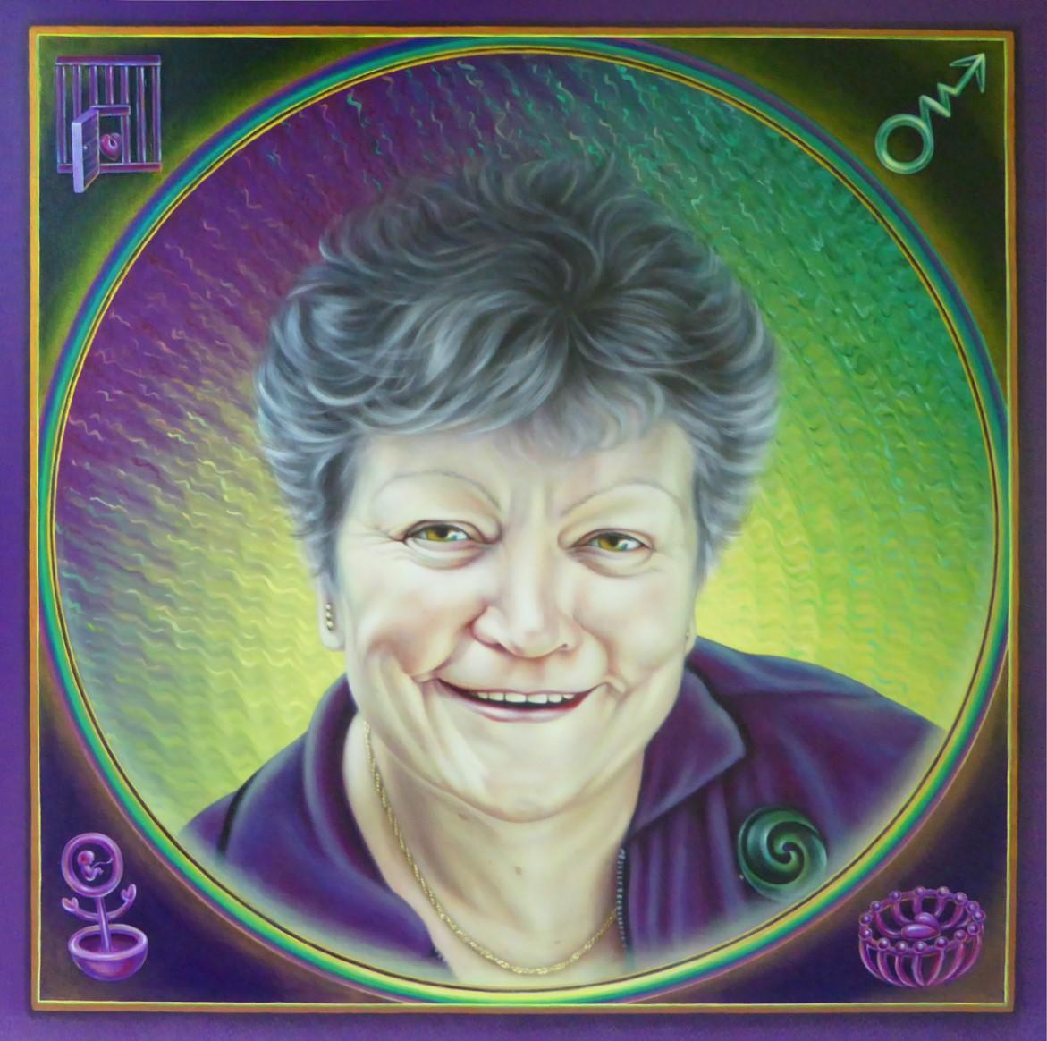 Celia Lashlie Portrait